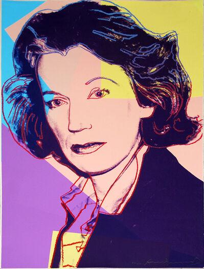 Andy Warhol, 'Mildred Scheel II.238', 1980
