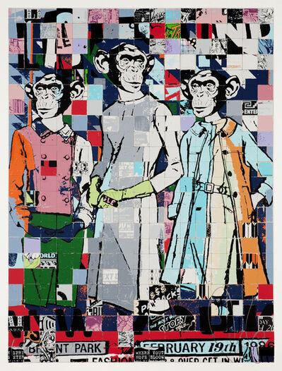 FAILE, 'Fashion Chimps', 2011