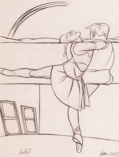Valerio Adami, 'Ballet', 1985