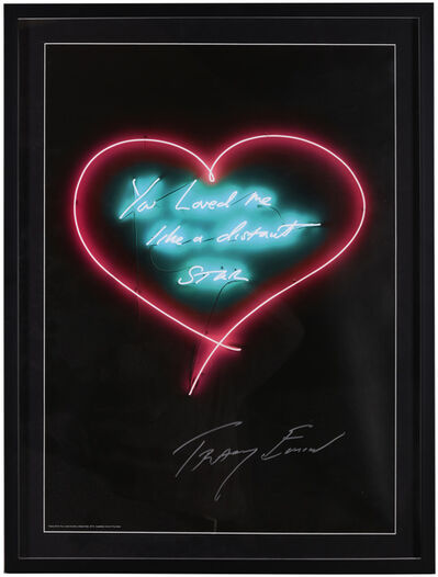 Tracey Emin, 'You Loved Me Like A Distant Star', 2016