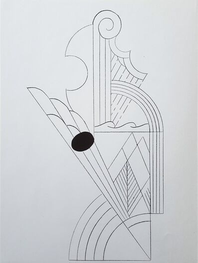 Roy Lichtenstein, 'Illustration for 'Romanze, or The Music Students' (I) & (II)', 1967
