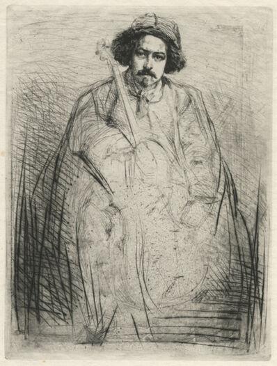 James Abbott McNeill Whistler, 'Becquet', 1859