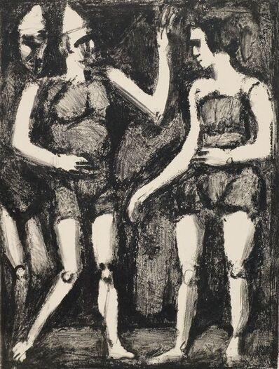 Georges Rouault, 'La Parade from Maîtres & Petits Maîtres d'Aujourd'hui', 1926