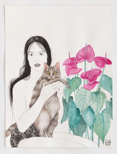 Alisha Sofia, 'Friend's Cat', 2018