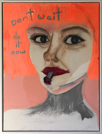 Kelly Cyd Schnabel, 'Don't Wait Do It Now', 2018