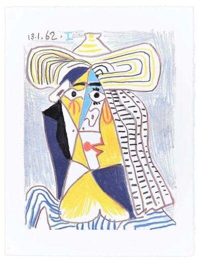 Pablo Picasso, ' Personnage Cubiste au Chapeau', 1962