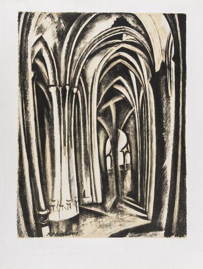 Robert Delaunay, 'Saint Severin', circa 1909