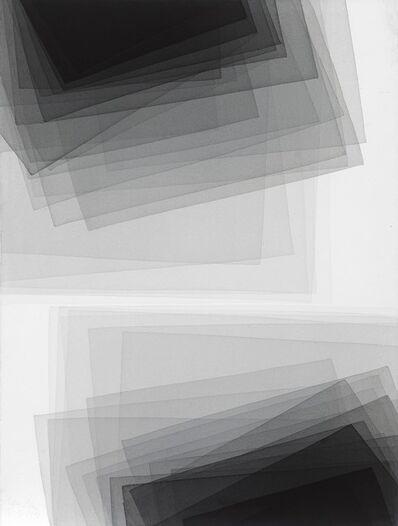 Joachim Bandau, 'Black watercolor', 2013