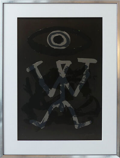 A.R. Penck, 'Standart Variation Schwarz Grau II', 1994