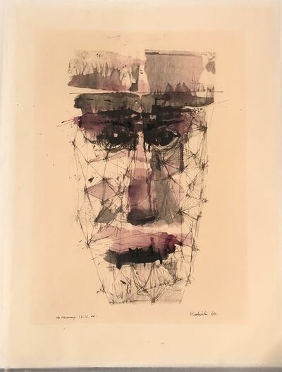 Lynn Chadwick, 'Untitled (Portrait of Tommy Kenyon)', 1960
