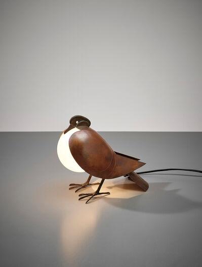 Claude & François-Xavier Lalanne, 'Pigeon lamp', designed 1991