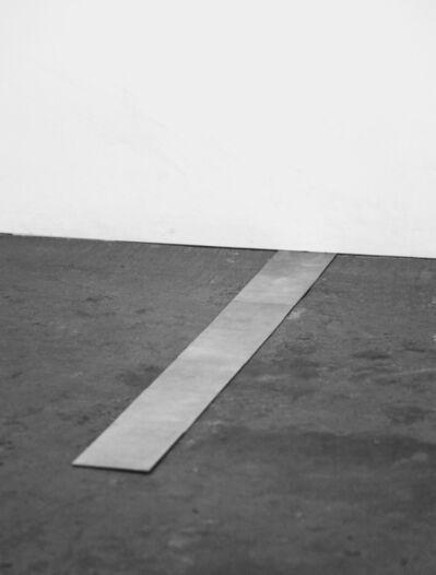 Carl Andre, 'Seventh small aluminum cardinal', 1975