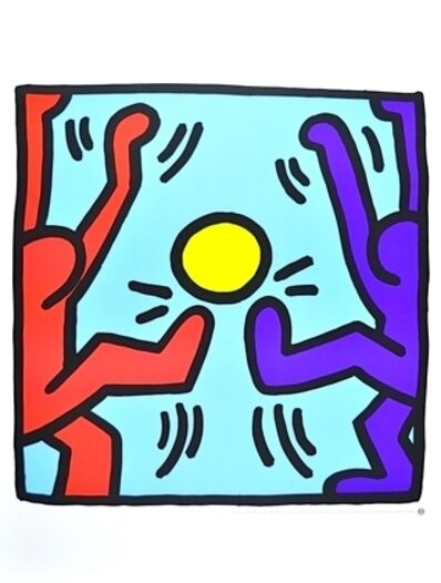 Keith Haring, 'Untitled (People Playing)', 1988