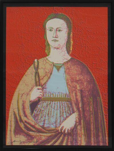 Andy Warhol, 'Saint Apollonia (FS II.330)', 1984