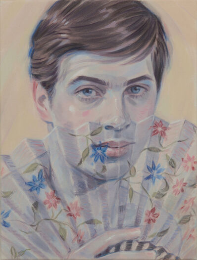 Kris Knight, 'Floral Screen', 2018