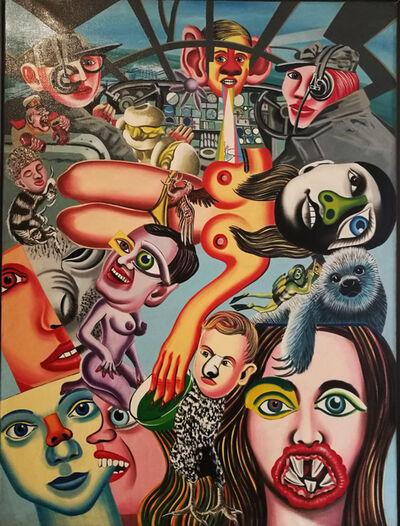 Erró, 'Hi Jacker', 1972