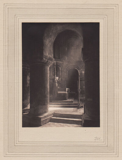 Frederick Henry Evans, 'Aisle to Altar, Priory of St. Bartholomew the Great'