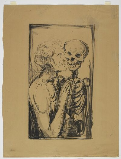 Edvard Munch, 'Dødsdans (Dance of Death)', 1915