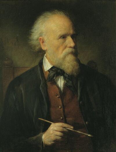 Friedrich von Amerling, 'Self-Portrait', 1875