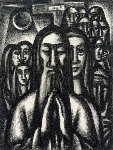 Emil Bisttram, 'Praying Man', 1940s