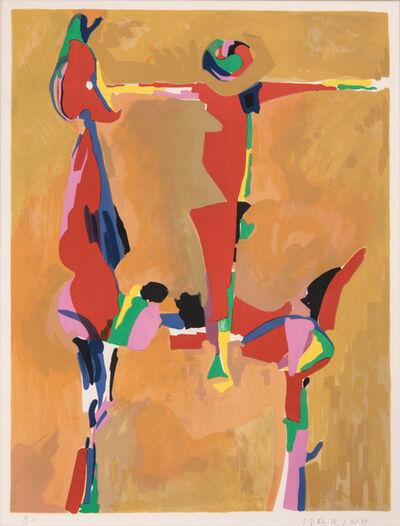 Marino Marini, 'Idea Del Cavaliere ', 1971