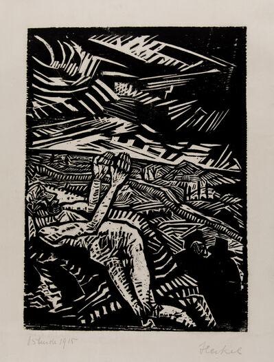 Erich Heckel, 'Verwundeter (Der barmherzige Samariter)', 1915