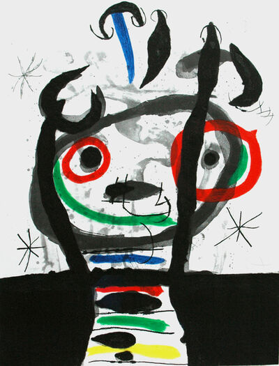 Joan Miró, 'Le grand Sorcier', 1968