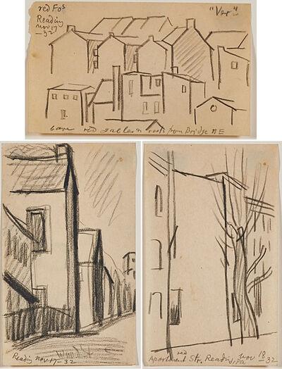 Oscar Bluemner, 'Three works of art'