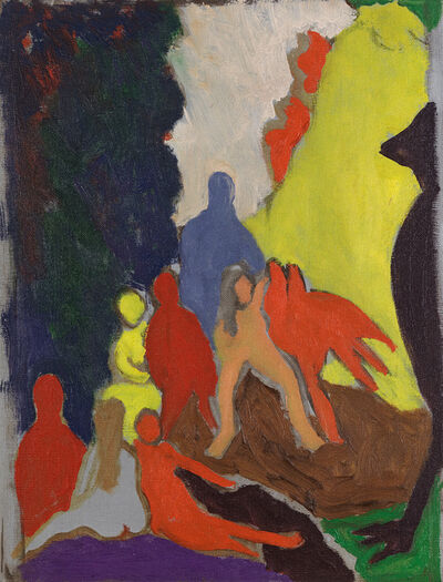 Bob Thompson, 'The Ascension', 1963
