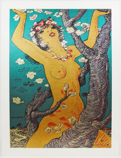 Salvatore Fiume, 'Autumn (Autunno)', 1970-1979