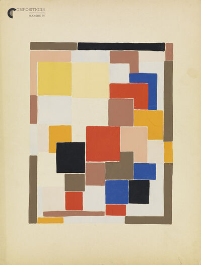 Sonia Delaunay, 'Compositions, Couleurs, Idees.', 1930