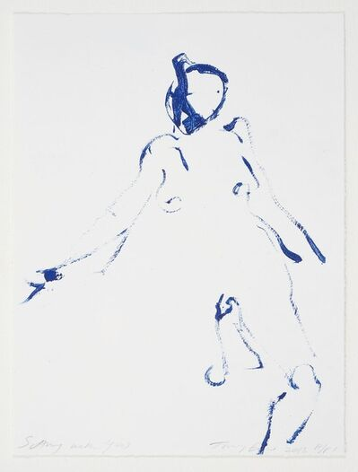 Tracey Emin, 'Sitting with You', 2013