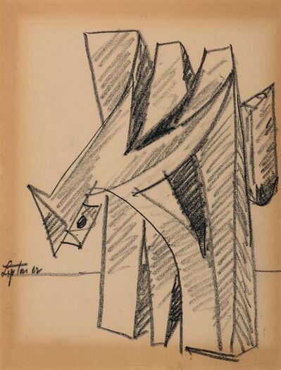 Seymour Lipton, 'Untitled (Sim. To Cedex # 2)', 1962
