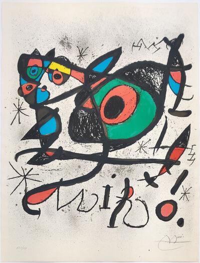 Joan Miró, 'SOBRETEIXIMS I ESCULTURES', 1972