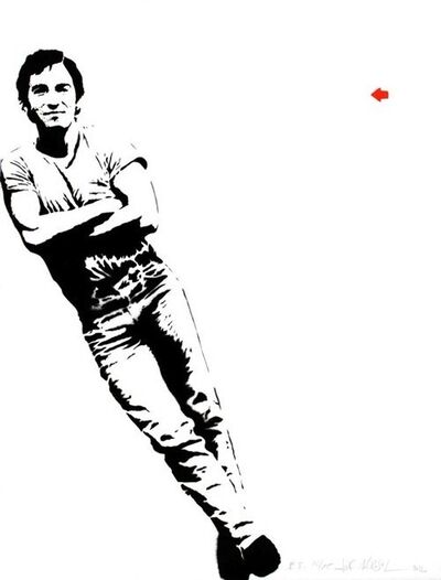 Jef Aérosol, 'Bruce Springsteen', 2012