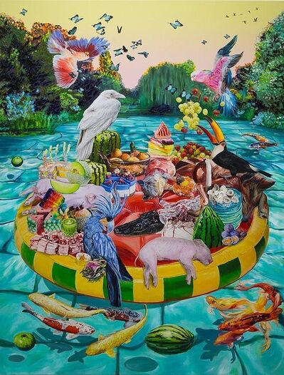 Christina Nicodema, 'Raft of Medusa', 2019