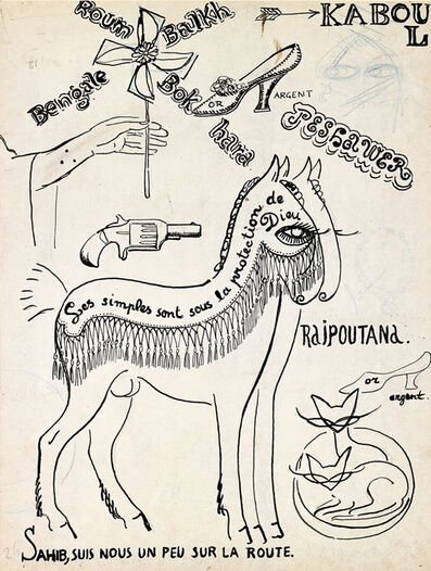 Kees van Dongen, 'Illustration pour les plus beaux contes de Kipling N°26', 1920
