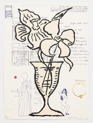 Donald Baechler, 'Untitled (flowers)', 1993