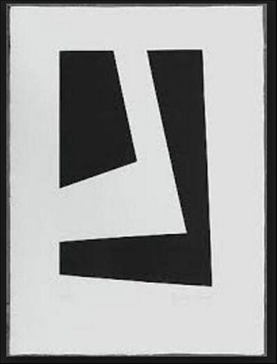 Brian Wall, 'Untitled Hard Edge Minimalist Etching', 1969