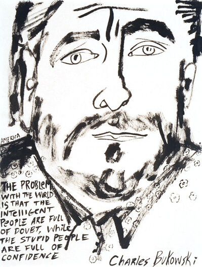 America Martin, 'Charles Bukowski', 2021
