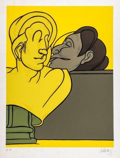 Valerio Adami, 'Kiss'