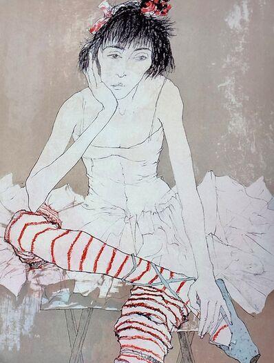 Jean Jansem, 'Sophie aux bas rouges, ', 1993