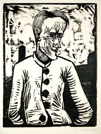Erich Heckel, 'Der Narr', 1917