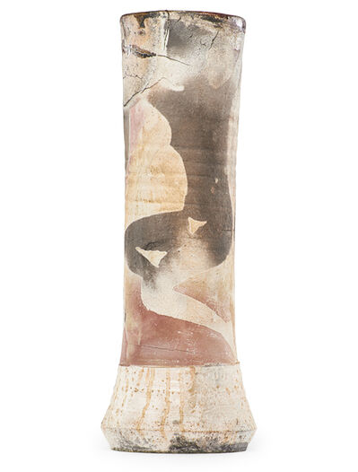 Paul Soldner, 'Tall vase with nudes, Claremont, CA', before 1980