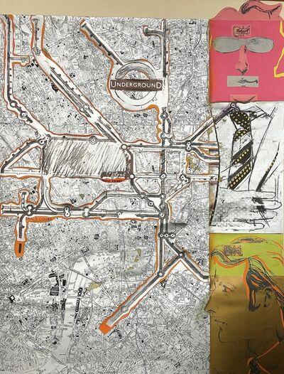 Larry Rivers, 'Untitled, London Underground', 1966