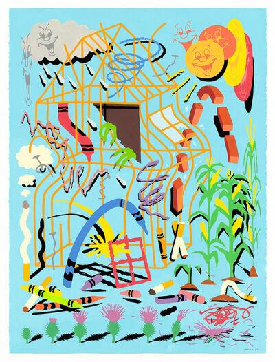Tim Lahan, 'Thistledown', 2020