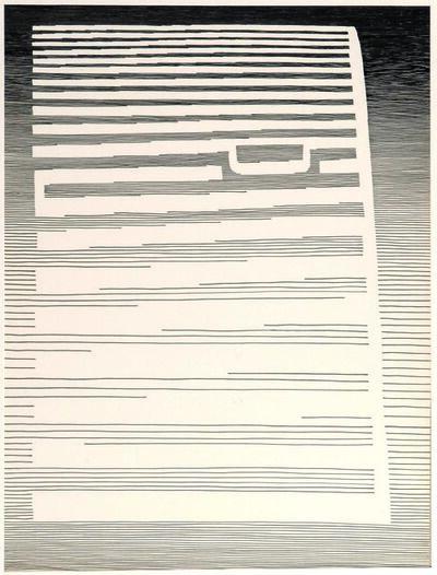 Michel Seuphor, 'Méditerranée & Cléopâtre (two works)'