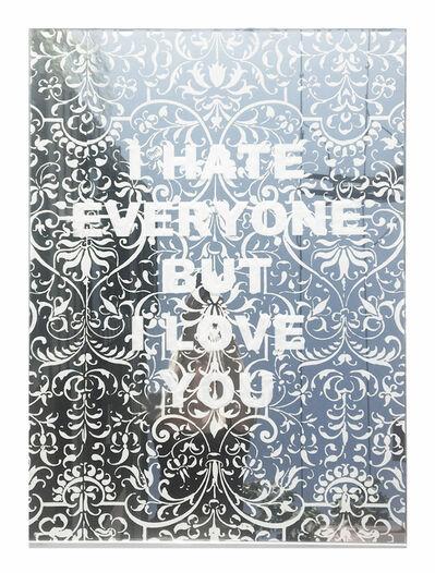 Amanda Manitach, 'I Hate Everyone But I Love You', 2019