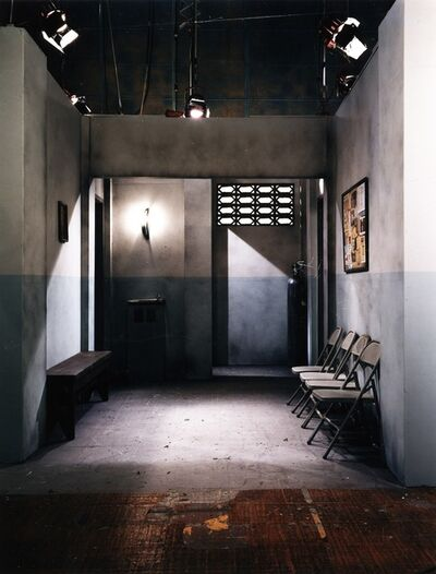 Luis Molina-Pantin, 'Scenery VII (Waiting Room)', 1997
