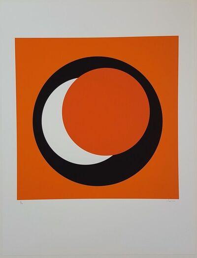 Geneviève Claisse, 'Orange Circle (Cercle orange)', 2015